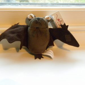 The Puppet Company - Finger Puppet - Brown Bat