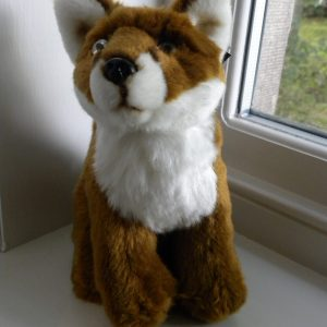 Large Plush Fox Toy Teddy - 23cm