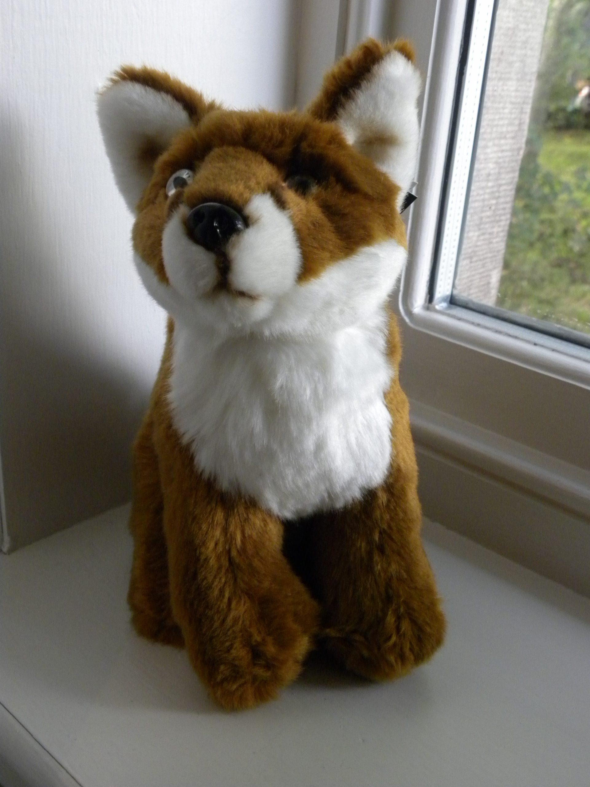 Large Plush Fox Toy Teddy - 23cm