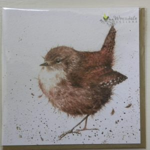 Wrendale Designs - Little Jenny Wren - Greeting Card