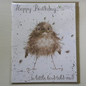 Wrendale Designs - Little Wren - Birthday Greeting Card