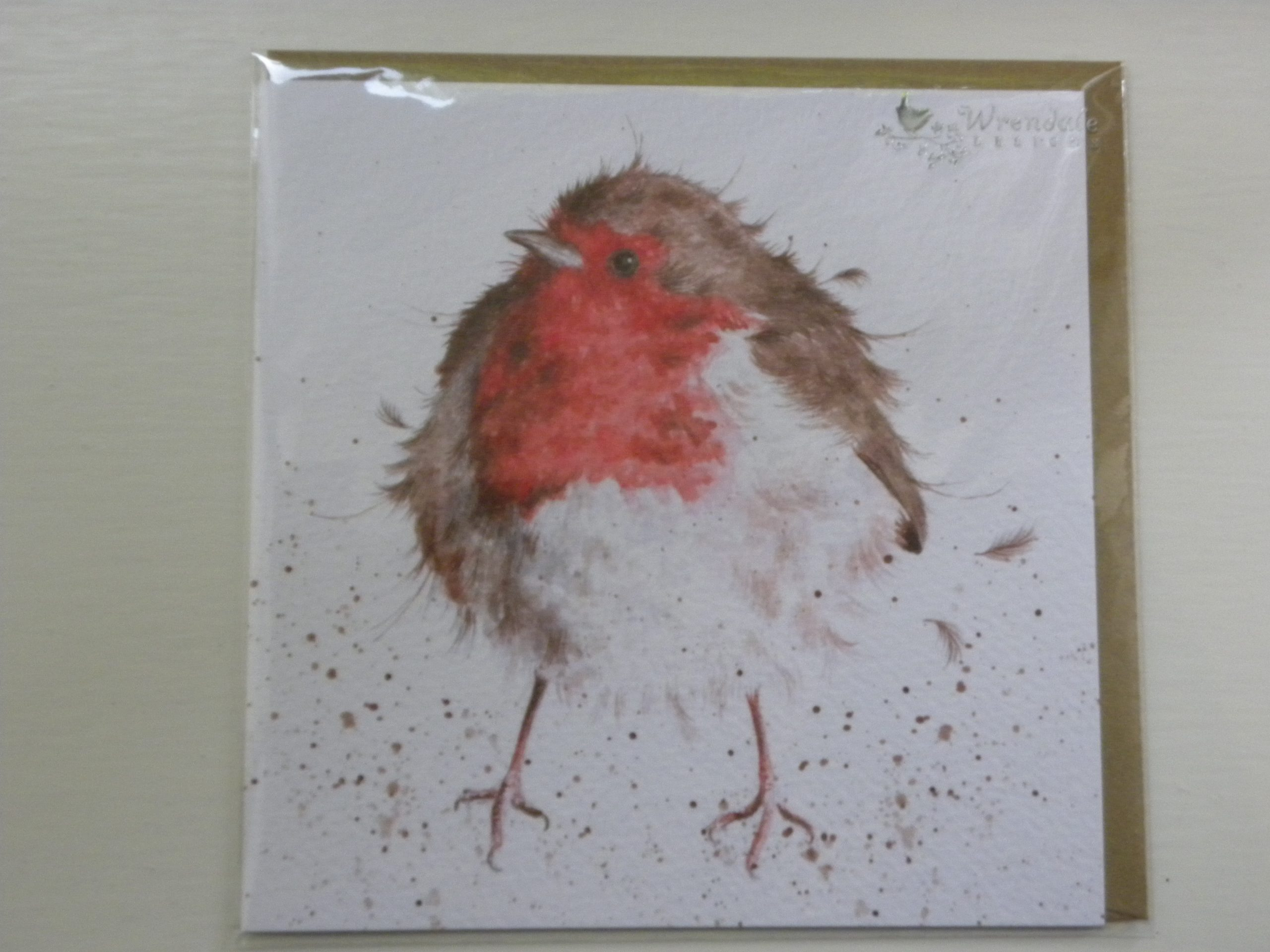 Wrendale Designs - The Jolly Robin - Greeting Card