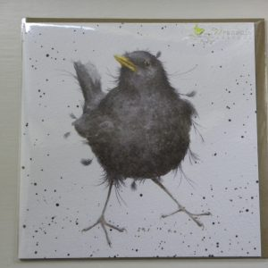 Wrendale Designs - Sing a Song - Blackbird - Greeting Card