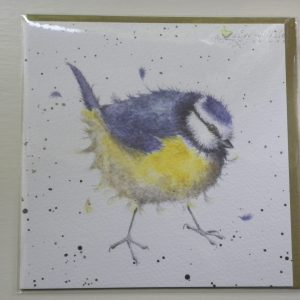 Wrendale Designs - Garden Dweller - Blue Tit - Greeting Card