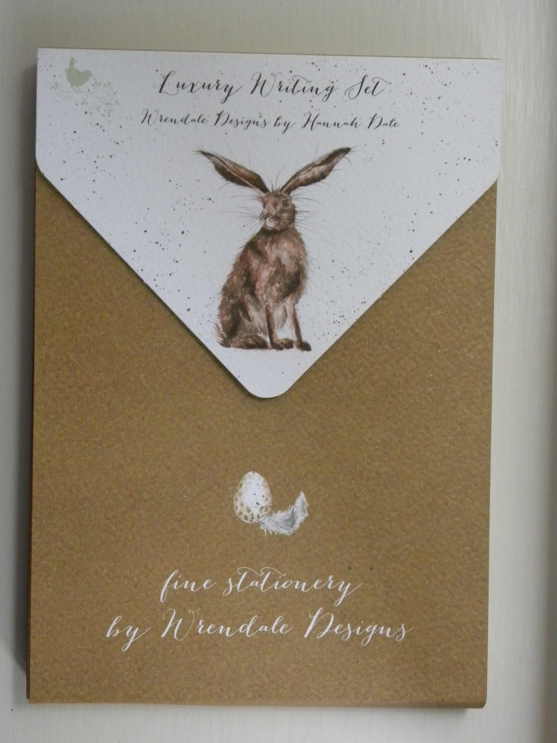 Wrendale Luxury Writing Set - Good Hare Day