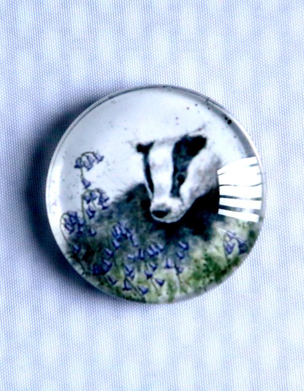Wrendale Badger Fridge Magnet