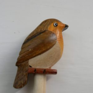 Handcrafted Wooden Robin Pencil