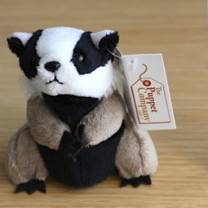 The Puppet Company - Finger Puppet - Badger