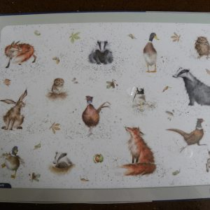 Pimpernel Wrendale - large Placemats - Country Set
