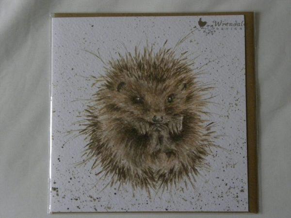 Wrendale Designs - Awakening - Hedgehog - Greeting Card