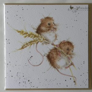 Wrendale Designs - The Harvesters - Harvest Mice - Greeting Card